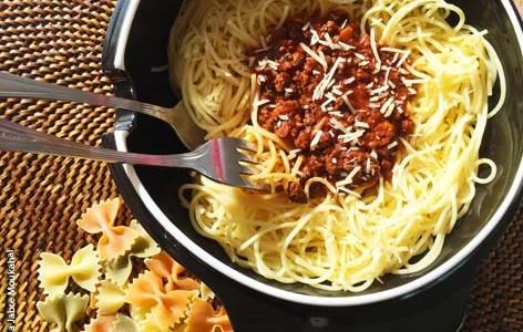 Spaghetti Bolognese à la Wafaa