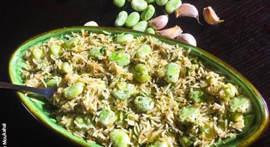 Fava beans & rice (Ful 3a Rizz) à la Wafaa