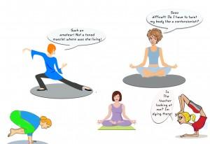 Discovering Yoga / The cornelian dilemma