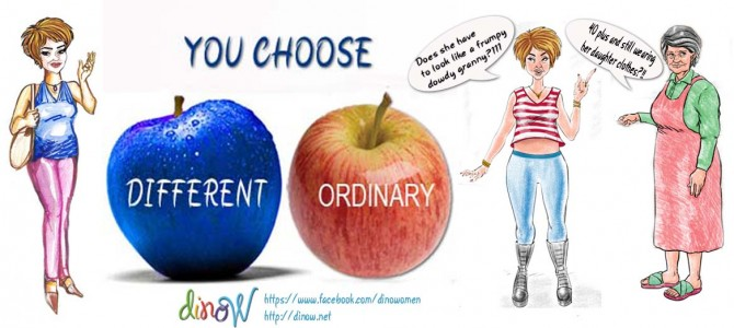 Different or Ordinary? Elegant or frumpy? Part- 2
