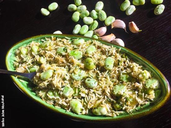 Fava beans & rice - DinoW