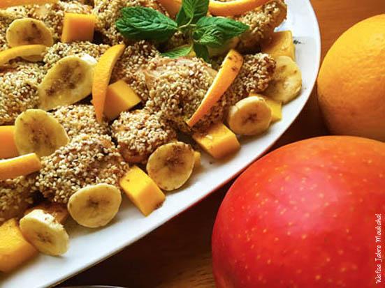 Fruity chicken sesame - Dinow