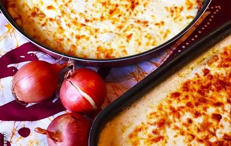 Tarte à l'oignon, Onion tart