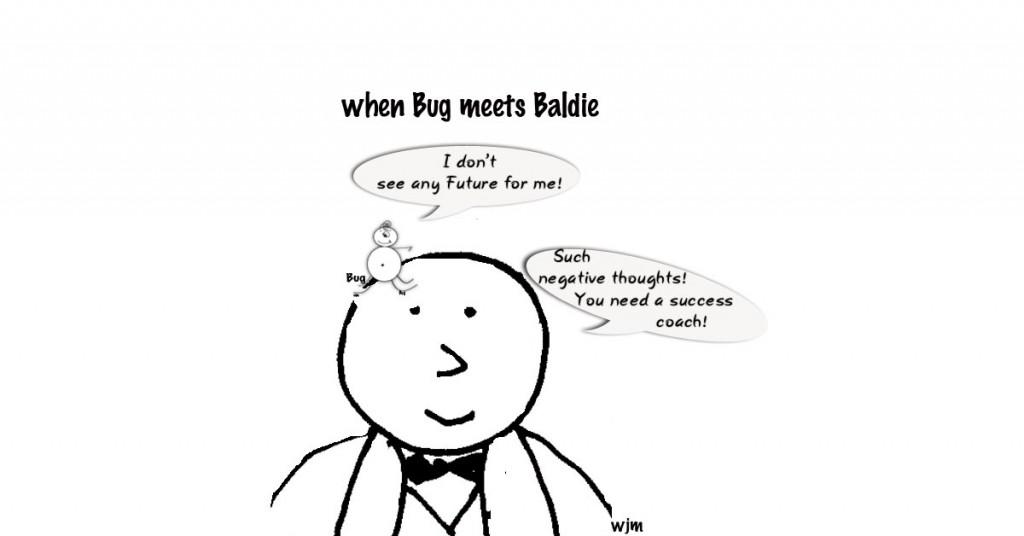when bug meets Baldie - Dinow