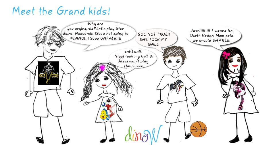 Meet the Grand kids! - DinoW