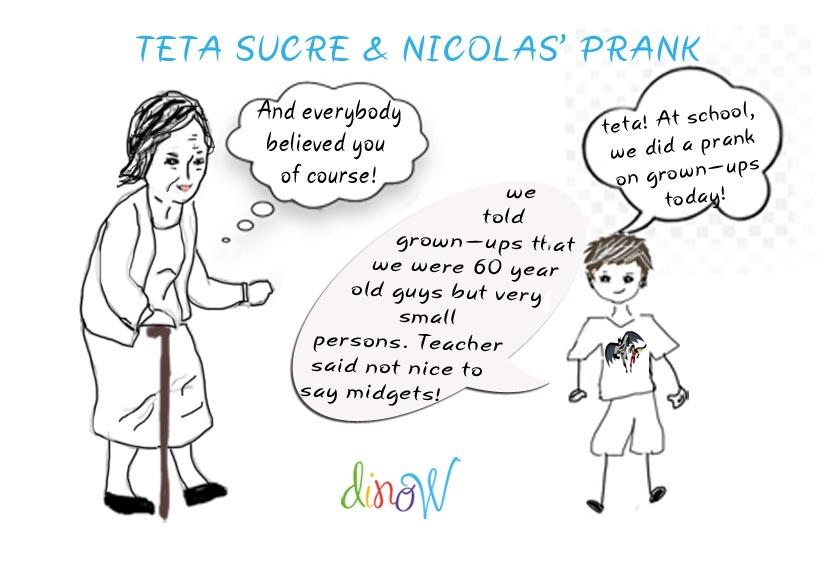 Teta Sucre & Nicolas' prank!