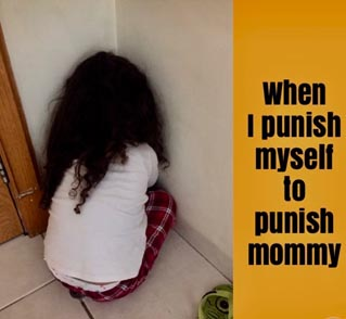 When I want to punish myself….